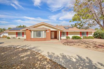 Apple Valley CA Single Family Home For Sale: $298,000