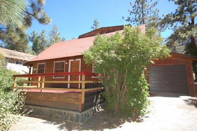 Wrightwood Single Family Home For Sale: 1785 Sparrow Road