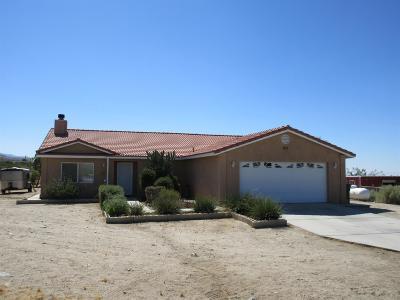 Pinon Hills Single Family Home For Sale: 11528 Alta Vista Road
