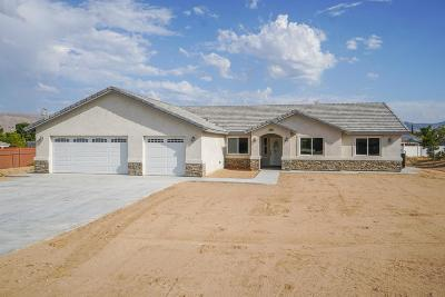 Hesperia Single Family Home For Sale: 17785 Hinton Street