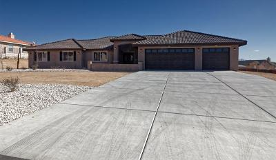 Apple Valley Single Family Home For Sale: 18596 Cocqui Road