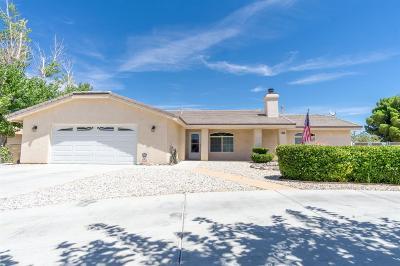 Hesperia Single Family Home For Sale: 16398 El Centro Street