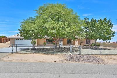 Victorville Single Family Home For Sale: 14690 Zuni Lane