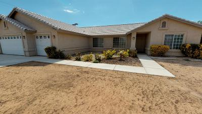 Apple Valley Single Family Home For Sale: 13912 Crow Road