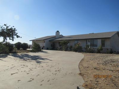 Phelan Single Family Home For Sale: 7730 Goss Road