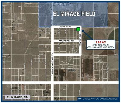El Mirage Residential Lots & Land For Sale: Linson Street