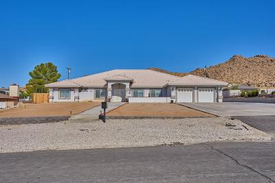 Apple Valley Single Family Home For Sale: 19090 Majela Road