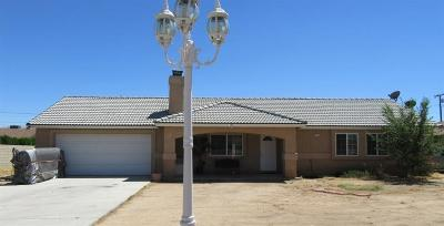 Apple Valley CA Single Family Home For Sale: $252,900