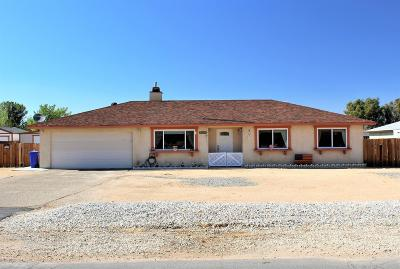 Apple Valley CA Single Family Home For Sale: $239,000