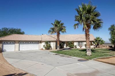 Apple Valley Single Family Home For Sale: 10252 Bella Vista Street