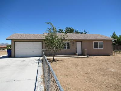 Apple Valley Single Family Home For Sale: 10881 Malgosa Road