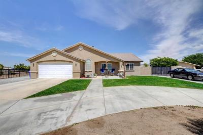 Apple Valley CA Single Family Home For Sale: $275,000