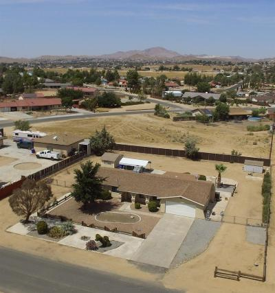 Apple Valley CA Single Family Home For Sale: $269,990