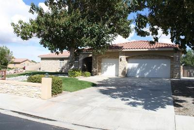 Apple Valley CA Single Family Home For Sale: $625,000