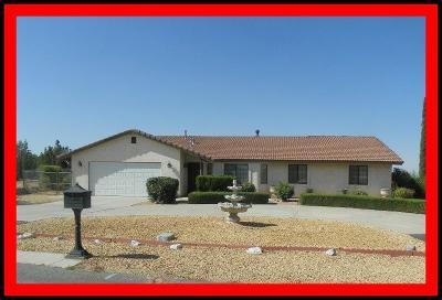 Phelan Single Family Home For Sale: 4386 Sierra Vista Court