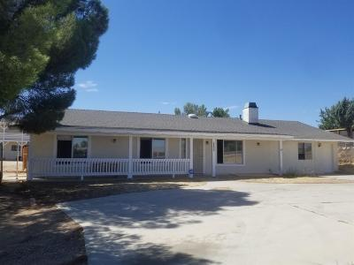 Hesperia Single Family Home For Sale: 17869 Sequoia Street
