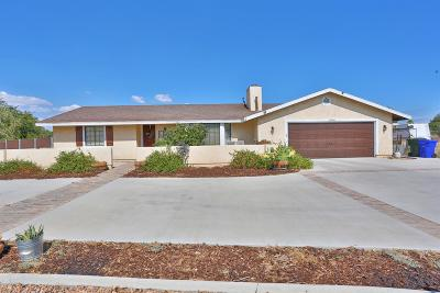 Apple Valley Single Family Home For Sale: 19068 Yanan Road