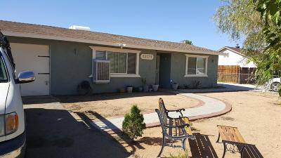 Apple Valley Single Family Home For Sale: 22175 Tehama Road