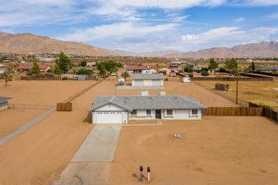 Apple Valley Single Family Home For Sale: 16339 Tenaya Road