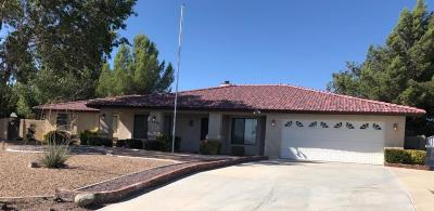 Apple Valley Single Family Home For Sale: 12598 Bannock Court