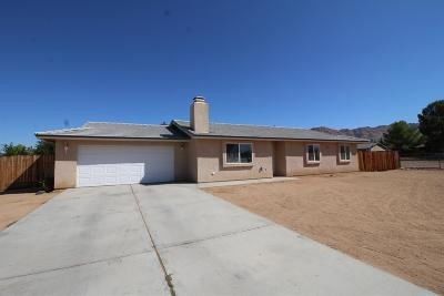 Apple Valley CA Single Family Home For Sale: $219,000