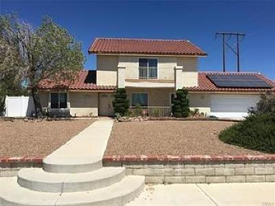 Apple Valley CA Single Family Home For Sale: $309,900