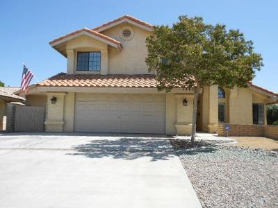 Victorville Single Family Home For Sale: 13455 Hidden Valley Road