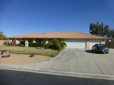 Apple Valley Single Family Home For Sale: 12895 Quail Vista Road