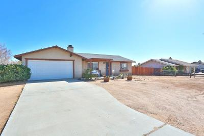 Apple Valley CA Single Family Home For Sale: $225,000