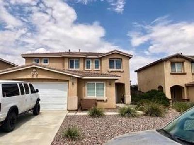 Hesperia Single Family Home For Sale: 14166 Dry Creek Street