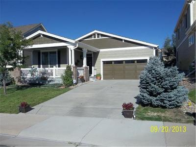 Castle Rock CO Single Family Home Sold: $302,400