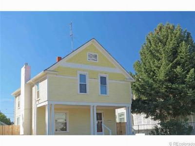 Greeley Single Family Home Under Contract: 1504 8th Street