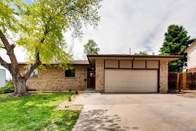 Thornton Single Family Home Active: 9961 Pecos Street