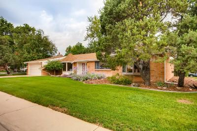 Golden Single Family Home Active: 14955 West 29th Place