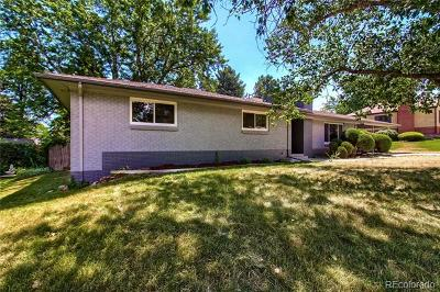 Wheat Ridge Single Family Home Active: 3860 Brentwood Street