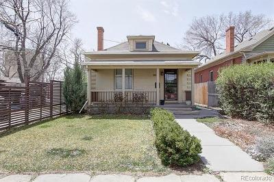 Denver Single Family Home Active: 2926 West 34th Avenue
