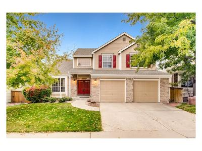 Highlands Ranch Single Family Home Under Contract: 1658 Spring Water Place
