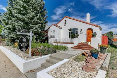 Denver Single Family Home Active: 4033 West 29th Avenue
