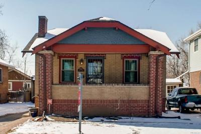 Denver Single Family Home Active: 2065 South Corona Street