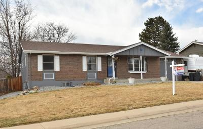 Arvada Single Family Home Active: 6575 Union Street