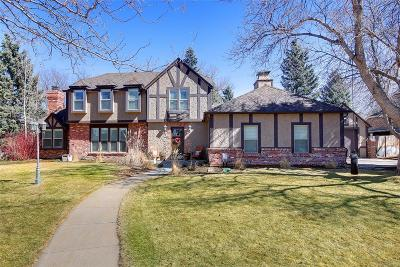 Greenwood Village Single Family Home Under Contract: 5758 South Galena Street
