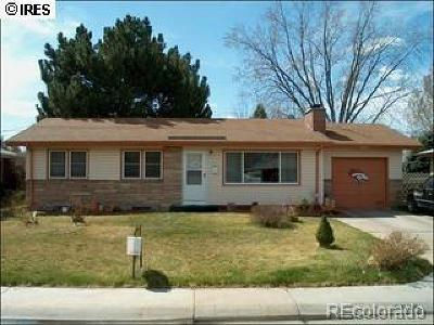 Weld County Single Family Home Active: 2828 West 12th Street Road