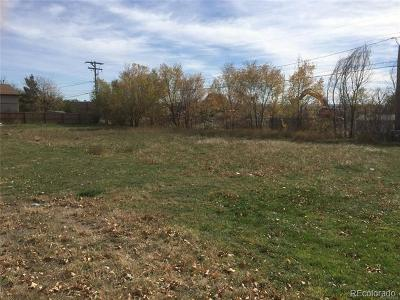 Englewood Residential Lots & Land Active: 2420 South Zuni Street