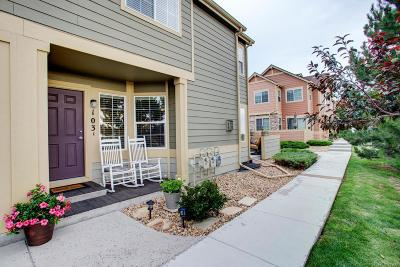 Castle Rock Condo/Townhouse Under Contract: 2515 Cutters Circle #103