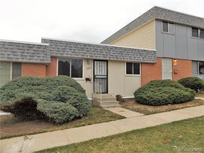 Thornton Condo/Townhouse Under Contract: 8697 Santa Fe Drive