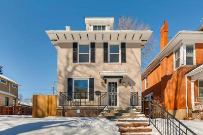 Denver Single Family Home Active: 967 Fillmore Street