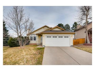 Highlands Ranch, Lone Tree Single Family Home Under Contract: 8971 Maribou Court