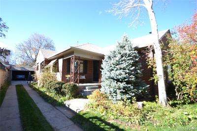 Denver Single Family Home Active: 625 Glencoe Street