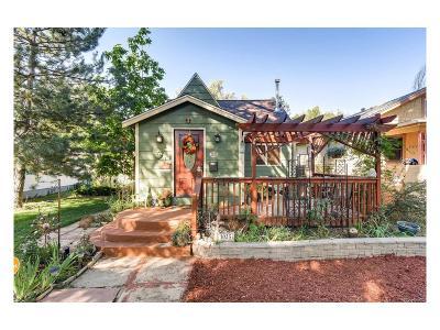 Longmont Single Family Home Under Contract: 1025 Bross Street