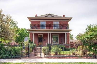 Denver Single Family Home Under Contract: 3914 West 29th Avenue